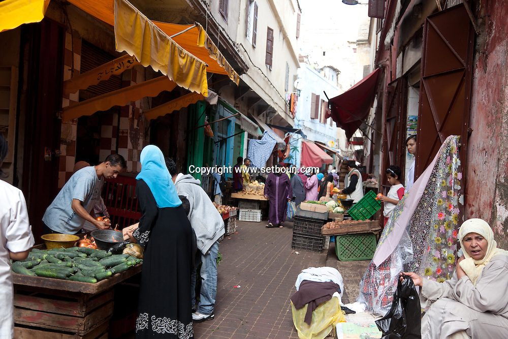 Morocco, Casablanca, market, the old medina