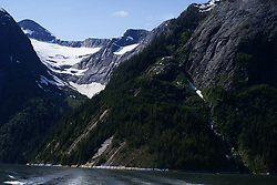 Tracy Arm Fjord - Waterfall