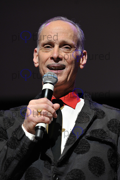 'John Waters' performing his one man show 'A John Waters Christmas', Royal Festival Hall, London, England. 5 December 2011. Contact: rich@piqtured.com  +(0)7941 079620 (Picture by Awais Butt)