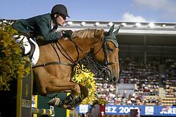 Babington Kevin, (IRL), Carling King<br /> Nations Cup 2<br /> World Equestrian Games Jerez de la Fronteira 2002<br /> Photo © Hippo Foto - Dirk Caremans
