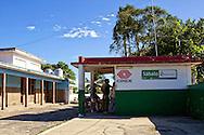 CUC shop in Sabalo, Pinar del Rio, Cuba.