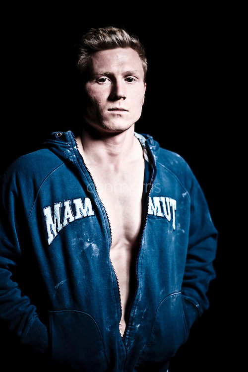Norwegian competitive rock climber Magnus Midtbo