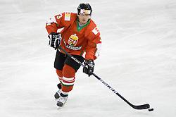 SVASZNEK Bence of Hungary at IIHF Ice-hockey World Championships Division I Group B match between National teams of Hungary and Croatia, on April 20, 2010, in Tivoli hall, Ljubljana, Slovenia.  (Photo by Vid Ponikvar / Sportida)