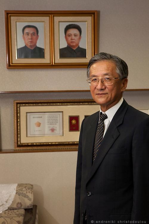President of N. Korean University in Tokyo Mr Chang Byong-Tae