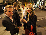 WILL TOBIN; SABINE ROEMER, The Gentleman's Journal Autumn Party, in partnership with Gieves and Hawkes- No. 1 Savile Row London. 3 October 2013