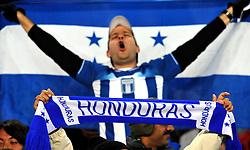 21.06.2010, Ellis Park Stadium, Johannesburg, RSA, FIFA WM 2010, Spain (ESP) vs Honduras (HND), im Bild Tifosi dell' Honduras, hondurianische Fans, Honduras Supporters, Features. EXPA Pictures © 2010, PhotoCredit: EXPA/ InsideFoto/ Giorgio Perottino +++ for AUT and SLO only +++ / SPORTIDA PHOTO AGENCY