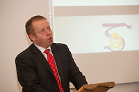 At The Galway Education Centre  Minister of State for Training and Skills, Ciaran Cannon TD launching of the annual Medtronic Foundation Programme. The programme which has been in existence for over ten years now includes the Medtronic Healthy Living Initiative, The Medtronic Scientist of The Future Project and The Medtronic KNEX Challenge..As part of their Healthy Living Initiative, The Medtronic Foundation partners with The Galway Education Centre to run a number of programmes in Galway City and County schools. In 2012, the Medtronic Foundation Community Connections programme included  gymnastics and skipping while a number of schools took part in the schools garden project. Perhaps the most ambitious was the heart dissection initiative which saw Medtronic staff in the classroom taking children as young as 6, step by step through a heart dissection!