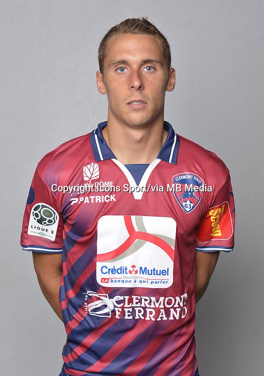 Remi DUGIMONT - 18.09.2013 - Photo Officielle - Clermont -<br /> Photo : Philippe Le Brech / Icon Sport