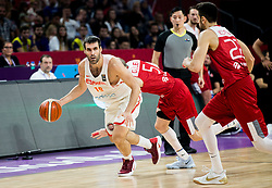 Fernando San Emeterio of Spain during basketball match between National Teams of Spain and Turkey at Day 11 in Round of 16 of the FIBA EuroBasket 2017 at Sinan Erdem Dome in Istanbul, Turkey on September 10, 2017. Photo by Vid Ponikvar / Sportida