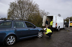 Pictured: <br /> <br /> Police Scotland luanched a series of vehicle checks to be carried out by the Lothians and Scottish Borders Division Road Policing Unit. Inspector Roddie MacMillan oversaw the checks which are part of activity taking place across Scotland this week to help drivers get ready for winter, ensuring their vehicles are maintained and they are aware of the different hazards the changing seasons and weather can bring. <br /> <br /> Ger Harley | EEm 18 October 2016