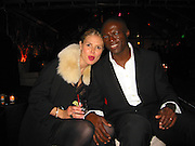 **EXCLUSIVE**.Heidi Klum & Seal.Mike Medavoy's Private Party before the Golden Globe.Private Resident.Beverly Hills, CA, USA.Saturday January 13, 2007.Photo By Celebrityvibe.com.To license this image please call (212) 410 5354; or.Email: celebrityvibe@gmail.com ;.Website: www.celebrityvibe.com