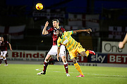 Yeovil Town forward François Zoko during the Sky Bet League 2 match between Northampton Town and Yeovil Town at Sixfields Stadium, Northampton, England on 28 November 2015. Photo by Dennis Goodwin.
