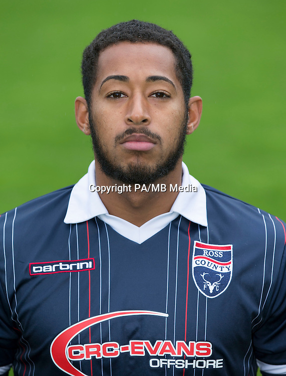 Ross County's Jamie Reckord.