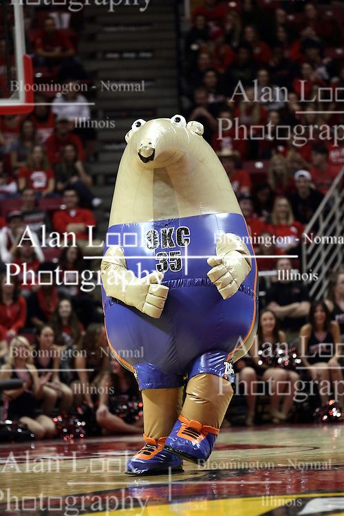 05 December 2015: Zooperstar Kevin Duranteater. Illinois State Redbirds host the University of Alabama - Birmingham Blazers at Redbird Arena in Normal Illinois (Photo by Alan Look)