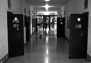 Roma Giugno 2000.Carcere di Rebibbia N.C..La sezione G8,  dove sono i Transessuali..Rome June 2000.Prison Rebibbia N.C..Section G8  where are the Transsexual.