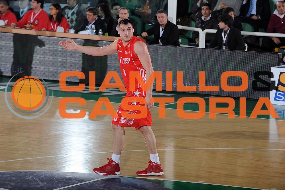 DESCRIZIONE : Avellino Final 8 Coppa Italia 2010 Quarto di Finale Armani Jeans Milano Air Avellino<br /> GIOCATORE : Jonas Maciulis<br /> SQUADRA : Armani Jeans Milano<br /> EVENTO : Final 8 Coppa Italia 2010 <br /> GARA : Armani Jeans Milano Air Avellino<br /> DATA : 18/02/2010<br /> CATEGORIA : delusione<br /> SPORT : Pallacanestro <br /> AUTORE : Agenzia Ciamillo-Castoria/GiulioCiamillo<br /> Galleria : Lega Basket A 2009-2010 <br /> Fotonotizia : Avellino Final 8 Coppa Italia 2010 Quarto di Finale Armani Jeans Milano Air Avellino<br /> Predefinita :