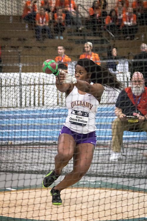 USATF Indoor Track & Field Championships: womens weight throw, Briana Cherry-Bronson