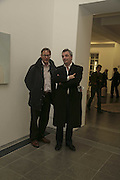 STEFAN RATIBOR AND ROGER BEVAN, In the darkest hout there may be light.- Work from the Murderme collection of Damien Hirst. Serpentine Gallery. London 24 November 2006.  ONE TIME USE ONLY - DO NOT ARCHIVE  © Copyright Photograph by Dafydd Jones 66 Stockwell Park Rd. London SW9 0DA Tel 020 7733 0108 www.dafjones.com