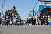 World Famous Ocean Front Walk In Venice Beach California