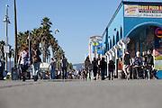 World Famous Ocean Front Walk In Venice Beach California