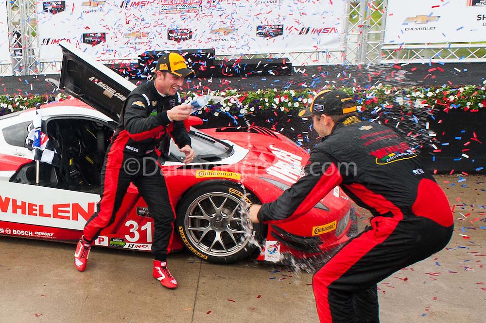 #31 Action Express Racing, Coyote DP Corvette DP: Eric Curran, Dane Cameron