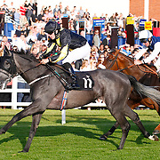 Serene Oasis and Matthew Davies winning the 7.25 race