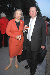 VIVIAN HARMSWORTH and his wife ALEXANDRA at a reception at the gold medal winning De Beers garden in aid of the KT Wong Charitable Trust at the 2nd day of the 2008 Chelsea Flower show on 20th May 2008.<br /><br />NON EXCLUSIVE - WORLD RIGHTS
