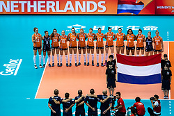 11-10-2018 JPN: World Championship Volleyball Women day 12, Nagoya<br /> Netherlands - Serbia 3-0 / Team NL