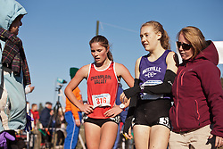 New England High School XC Championship, Taylor Spillane, Bethanie Brown after finishing,