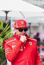 "November 8, 2018 - SãO Paulo, Brazil - SÃO PAULO, SP - 08.11.2018: GRANDE PRÊMIO DO BRASIL DE FÃ""RMULA 1 2018 - Kimi Räikkönen, (RAIKKONEN), FIN, Team Scuderia Ferrari, during the 2018 Brazilian Grand Prix held at the Autodromo de Interlagos in São Paulo, SP. (Credit Image: © Victor EleutéRio/Fotoarena via ZUMA Press)"