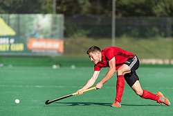 Southgate v Brighton - Men's Hockey League Division 1 South  at Southgate Hockey Centre, Trent Park, London, England on 06 October 2019.<br /> Photo by Simon Parker/SP Action Images