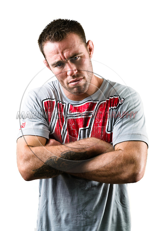 A portrait of mixed martial arts welterweight athlete Jake Shields