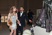 NATALIE DORMER; NICHOLAS OAKWELL, Ballgowns: British Glamour Since 1950, Sponsored by Coutts. V and A Museum. South Kensington. London.  15 May 2012.