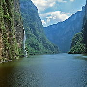 Sumidero Canyon, Chiapas,Mexico.
