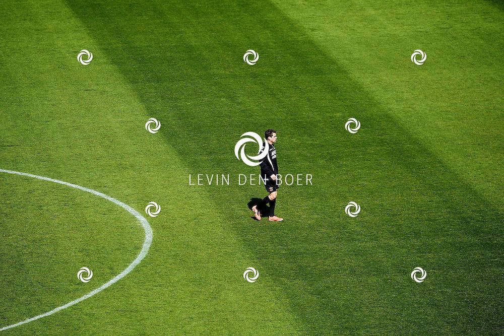 ALKMAAR - In het AZ Stadion is de NNP dag 2013 gehouden. Met op de foto Celso Ortiz. FOTO LEVIN DEN BOER - PERSFOTO.NU