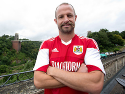Louis Carey of Bristol City - Photo mandatory by-line: Kieran McManus/JMP - Tel: Mobile: 07966 386802 31/07/2013 - SPORT - FOOTBALL - Avon Gorge Hotel - Clifton Suspension bridge - Bristol -  Team Photo