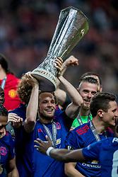 24-05-2017 SWE: Final Europa League AFC Ajax - Manchester United, Stockholm<br /> Finale Europa League tussen Ajax en Manchester United in het Friends Arena te Stockholm / Daley Blind #17 of Manchester United