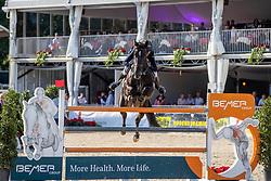 WEIER Christian (LUX), GLOBAL<br /> Münster - Turnier der Sieger 2019<br /> MARKTKAUF - CUP<br /> BEMER-Riders Tour - Qualifier for the rating competition (comp no 11)  - Stechen<br /> CSI4* - Int. Jumping competition with jump-off (1.50 m) - Large Tour<br /> 03. August 2019<br /> © www.sportfotos-lafrentz.de/Stefan Lafrentz