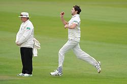 James Fuller of Gloucestershire bowls - Mandatory byline: Dougie Allward/JMP - 07966386802 - 22/09/2015 - Cricket - County Ground -Bristol,England - Gloucestershire CCC v Glamorgan CCC - LV=County Championship