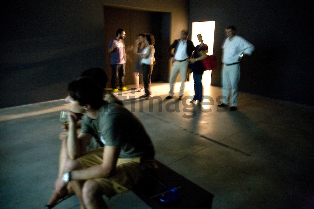 Ragnar Kjartansson exhibition opening at EX3 , center for Contemporary art in Florence, Italy