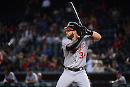 PHOENIX, AZ - AUGUST 03:  Bryce Harper #34 of the Washington Nationals stands at bat in the first inning against the Arizona Diamondbacks at Chase Field on August 3, 2016 in Phoenix, Arizona. The Nationals beat the Diamondbacks 8 to 3.  (Photo by Jennifer Stewart/Getty Images)