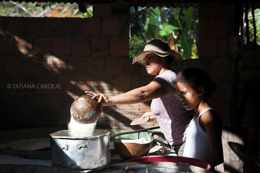 Comunidade Quilombola Angelim I, Itaúnas, Conceição da Barra, Espírito Santo, Brasil.