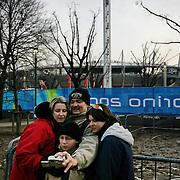 Braciere olimpico dei XX Giochi olimpici invernali dal 10 al 26 febbraio 2006 a Torino