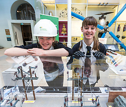 Edinburgh International Science Festival will be hosting the Careers Hive Open Day at the National Museum of Scotland on Saturday 4 March.<br /> <br /> Careers Hive was developed by Edinburgh International Science Festival in response to the rising tide of young people electing not to continue with science, technology, engineering and maths (STEM) from the end of broad education –despite high demand for individuals with skills and knowledge in these areas from industry.<br /> <br /> <br /> Careers Hive targets pupils in S1-S3 – the point where they start to make decisions about their future by choosing the subjects they want to study. This year 41 schools from 12 local authorities are participating. On a visit to Careers Hive at the National Museum of Scotland, these young learners are guided through three hour-long experiences by a Science Communicator.<br /> <br /> Pictured: Zoe Mcleister and Sylvia Peacock, both 14 from Trinity High School at a SP Energy Networks stall in the Careers Hive