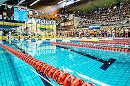 Zwemmen Amsterdam NJJK korte baan 2015 : Sfeerbeeld Sloterparkbad