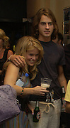 Alice ( Eve) with Rafe Spall. Gala Charity premiere of 'On A Clear Day' in aid of the NSPCC. The Screen on the Hill, Haverstock Hill, London. 31 August 2005. ONE TIME USE ONLY - DO NOT ARCHIVE  © Copyright Photograph by Dafydd Jones 66 Stockwell Park Rd. London SW9 0DA Tel 020 7733 0108 www.dafjones.com