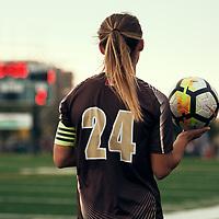 Women's Soccer home opener on Sat Sep 08 at U of R Field. Credit: Arthur Ward/Arthur Images