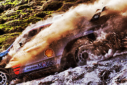 June 11, 2017 - Sardinia, Italy - Belgian driver THIERRY NEUVILLE and co-driver NICOLAS GILSOUL drive their Hyundai i20 Coupe WRC at the 2017 FIA World Rally Championship in Sardinia. (Credit Image: © André Lavadinho/S Presse/Panoramic via ZUMA Press)