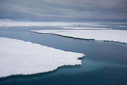 Bråsvellbreen glacier with M/S Stockholm in Svalbard