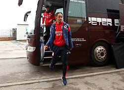 Bobby Reid of Bristol City arrives at Barnsley - Mandatory by-line: Robbie Stephenson/JMP - 30/03/2018 - FOOTBALL - Oakwell Stadium - Barnsley, England - Barnsley v Bristol City - Sky Bet Championship